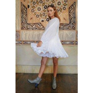 Ella Dress | White