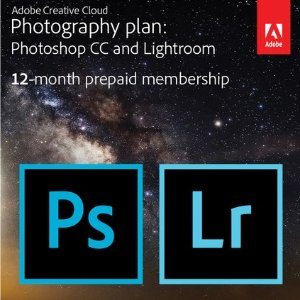 $119.88 + $25 B&H礼卡Adobe Creative Cloud 摄影套餐(PS+LR) + 20GB云储蓄