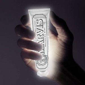 7.5折 闪亮白牙不是梦Marvis 超强薄荷美白牙膏3个装热卖 牙膏中的爱马仕