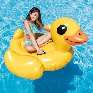 $9.97Intex 大黄鸭水上充气浮床