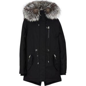 Mackage90%羽绒,10%羽毛- Chara-DXR 毛领羽绒服