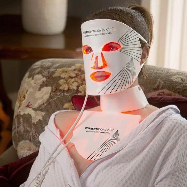 LED光疗颈部+面部仪