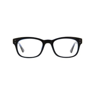 Zenni OpticalBlack Rectangle Eyeglasses #125021 | Zenni Optical Eyeglasses