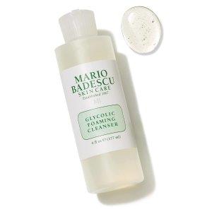 $16(原价$20.31)MARIO BADESCU 甘醇酸换肤泡沫洁面 177毫升