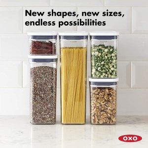 $11.99(原价$14.81)史低价:OXO Good Grips POP 密封收纳盒 让厨房储物变得简单