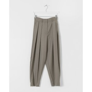 Le MerceauGreen Pleated Trousers