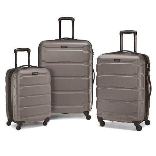 Omni 硬壳万向轮旅行箱三件套 灰色
