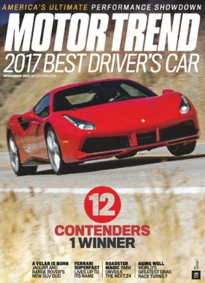 $124 Yr Motor Trend Magazine Subscriptions