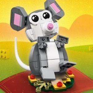 满额送生肖鼠 促销区5折起Lego 乐高官网中国新年大促 新年庙会、建筑系等大量上新