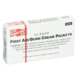 $1.98Pac-Kit by First Aid Only 13-006 First Aid/Burn Cream Packet (Box of 12)