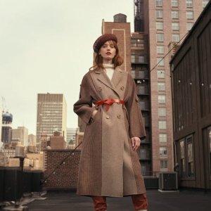 7折 羊毛大衣$100+QUAINT官网 时尚服饰热卖促销 折扣区也参加