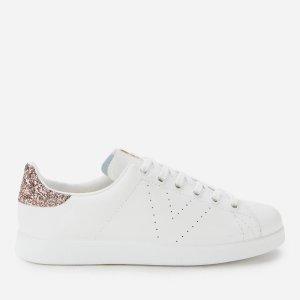 Victoria亮片尾小白鞋