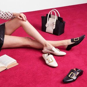 Dealmoon Exclusive! 15% offIconic Janelle in Black and Bone @ Bally