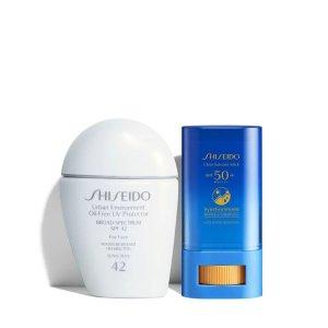Shiseido防晒2件套
