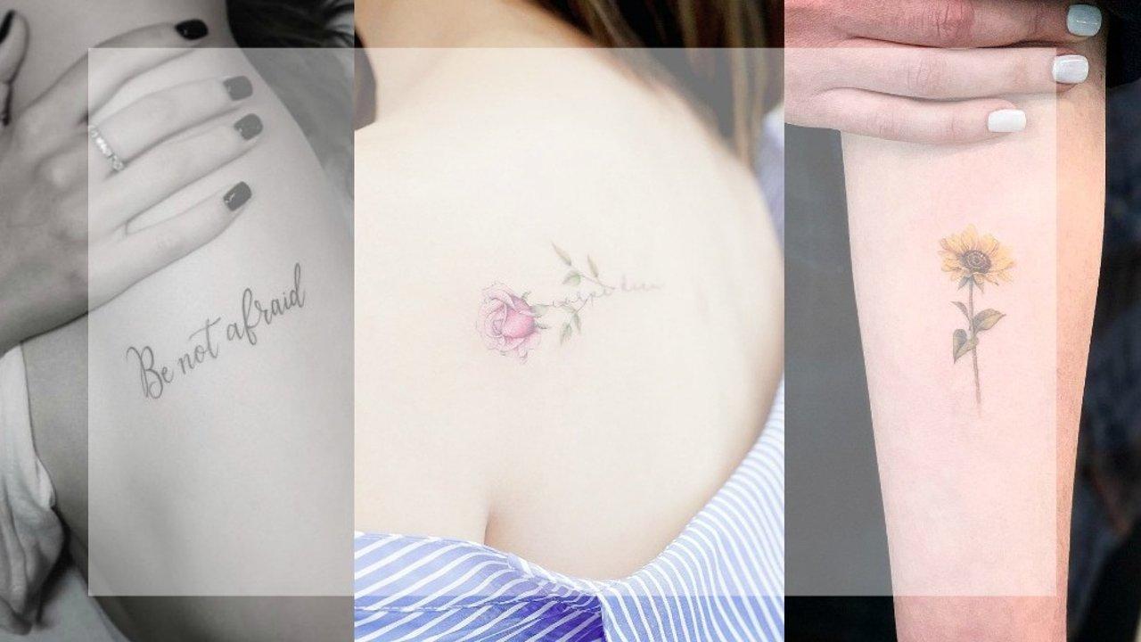 2019年最新版「女生纹身」创意推荐,你准备好了吗?