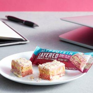 MYPROTEIN生日蛋糕味6层能量棒