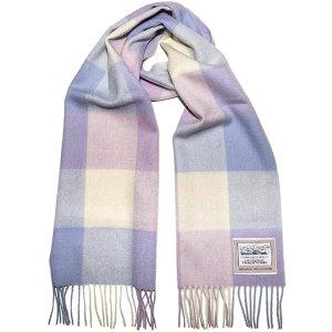 Heritage Traditions 香芋紫羊毛围巾