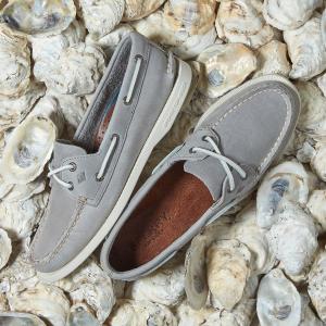 低至4.5折 $37收百搭小白鞋Sperry 男士鞋履热卖 好走又舒适
