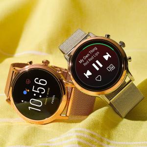 无门槛8折 平价Apple WatchFOSSIL 品牌尊严担当Gen 5、Hybrid系列智能表闪促