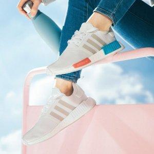 低至5折+额外6折手慢无:Adidas 时尚百搭鞋履折上折 $86收封面同款NMD