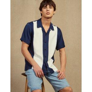 SandroFloaty Short-Sleeved Shirt