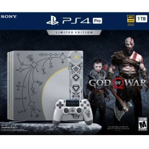 IGN 10/10PlayStation 4 Pro 1TB God Of War Limited Edition
