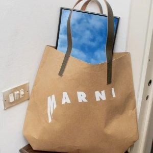 低至5折+额外7折起夏日必败:Marni 托特包专场 $241到手价收封面类似款托特包