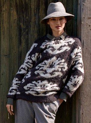 Nordic geometry sweater   Contemporaine