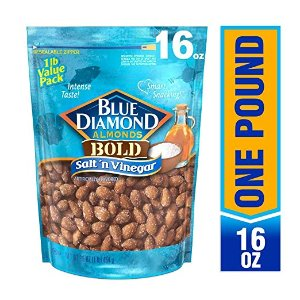 $6.98Blue Diamond 海盐醋口味大杏仁 1磅超值装