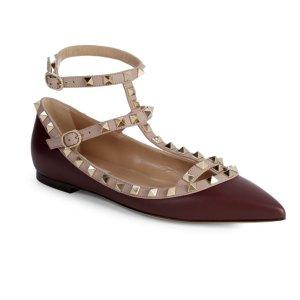 低至4折Valentino Garavani 美鞋热卖 收经典铆钉鞋
