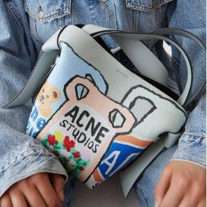 4折起 入Mulberry联名邮差包Acne Studios 尖儿货专场 牛奶盒子、北极狐联名、招牌囧脸