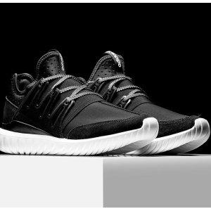 $39.99 (原价$110) + 免邮免退白菜价:adidas Tubular Radial 男鞋促销,码全,黑灰两色可选