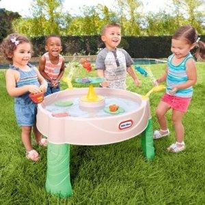 $19.99Little Tikes 儿童青蛙池塘玩水桌,反季囤好价