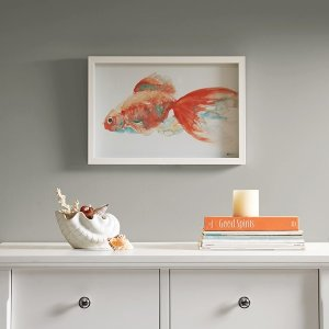 Gilbert Goldfish Frame Art By Urban Habitat - Designer Living