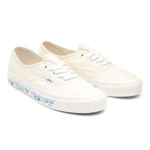 Vans清新蓝白鞋