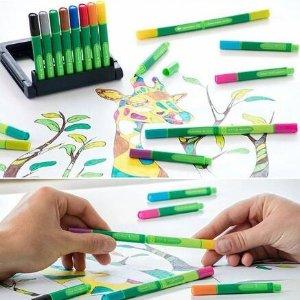 4色细笔$4.87德国Schneider 施耐德书写笔、画笔上新 手感舒适 书写流畅