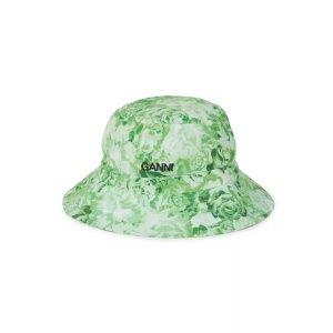 Ganni印花渔夫帽