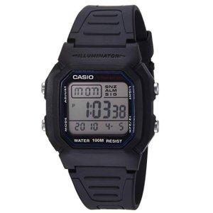 $13.57(原价$19.95)Casio 经典基础款男士运动手表,户外出行好伴侣