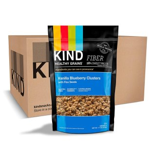 KIND Healthy Grains Granola Clusters Vanilla Blueberry with Flax Seeds