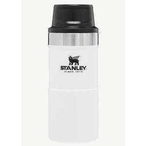 简约白Stanley Classic Trigger-Action 354ml保温杯