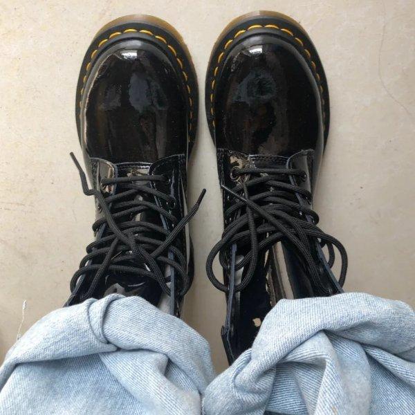 1460光面马丁靴