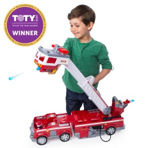PAW Patrol Ultimate Rescue Fire Truck with Extendable 2 ft. Tall Ladder
