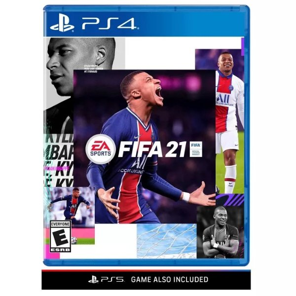 FIFA 21  PS4/5 实体版