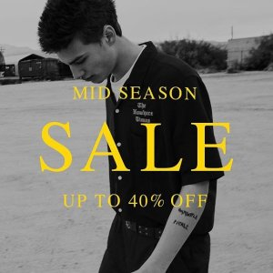 Up to 40% OffMidseason sale @ Allsaints