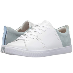 $22.74起(原价$80.07)  记忆鞋垫Skechers 女士拼接小白鞋 小清新款式 洋气又好看