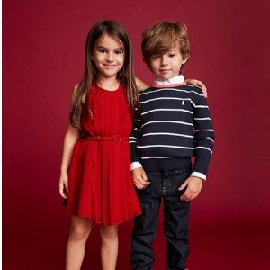 Up to 70% Off + Extra 25% OffBloomingdales Polo Ralph Lauren Kids Clothing Sale