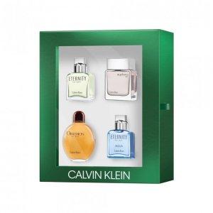 Calvin KleinMen's EDT Gift 15mL 4 Piece香水套装