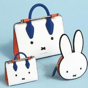 $115起 封面Tote款$355Strathberry X Miffy 米菲兔限定合作款上市 可爱到犯规