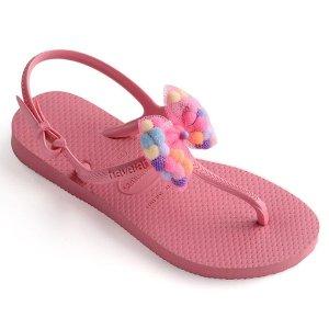 Havaianas女童人字小凉鞋
