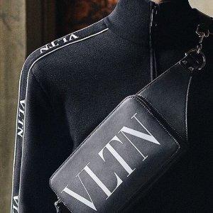 全场8折 简洁又帅气Valentino 男士专场卫衣、钱包热卖
